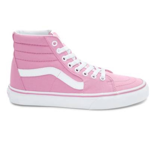 b41cad6f88cf1d Vans Sk8 Hi Skate Shoe in Prism Pink